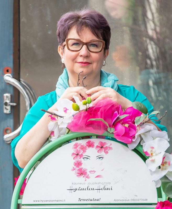 Kosmetologi Iisalmi Teija Hiltunen
